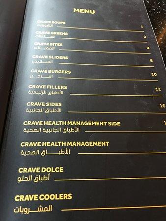 Crave Nation Restaurant U0026 Dessert House: Menu List
