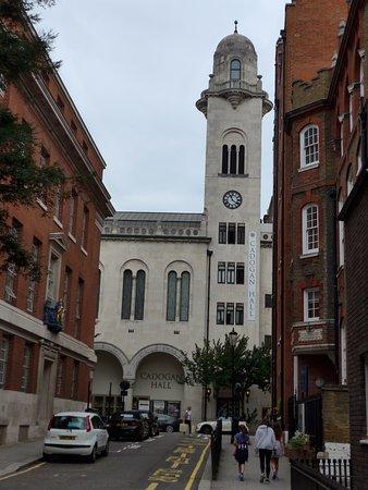 London, Cadogan Hall, outside view