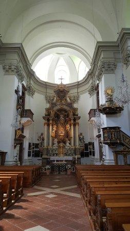 Kloster Maria Kirchental: Innenansicht Kirche Maria Kirchental