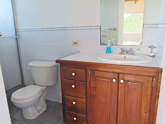 Northeast Coast, Tobago: Concord bathroom