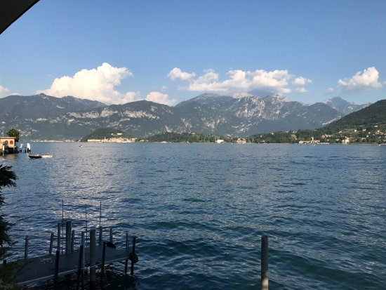 Hotel La Darsena: View from the dining terrace