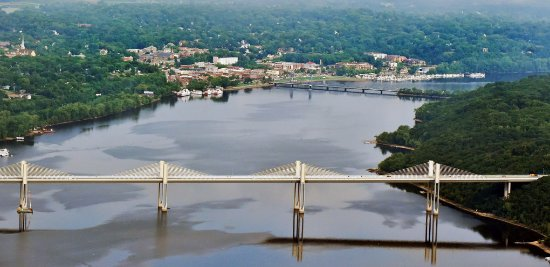 Stillwater, MN: Beautiful new St. Croix River Crossing Bridge
