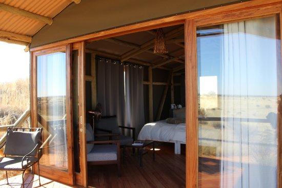 Kalkrand, Namibia: Blick ins Stelzenhaus