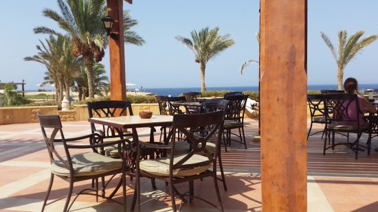 terrazza vista mare - Picture of Resta Reef Resort, Marsa Alam ...