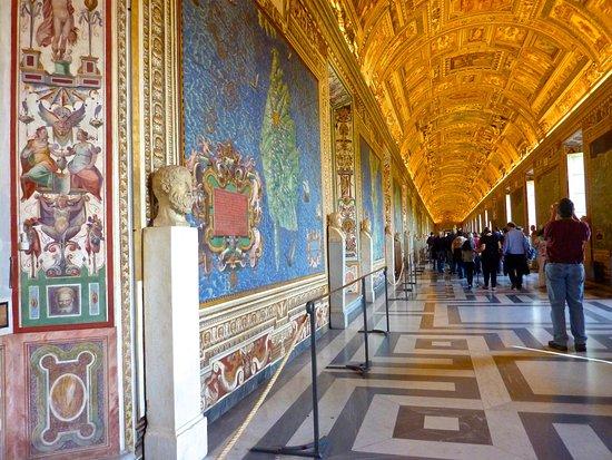 Gallery of Maps Vatican Museum Picture of Vatican City Vatican