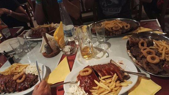 Sirocco Restaurant: CENA