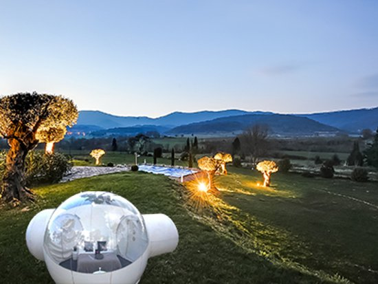 ‪‪Labastide En Val‬, فرنسا: outdoor bubble room‬