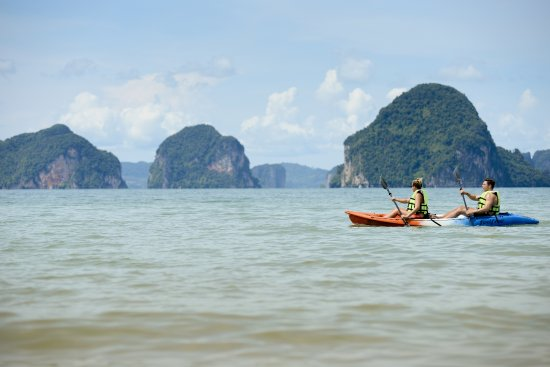 The Tubkaak Krabi Boutique Resort: Kayaking