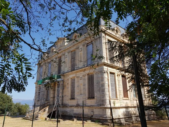 Ajaccio, France: Chateau de la Punta en Rénovation