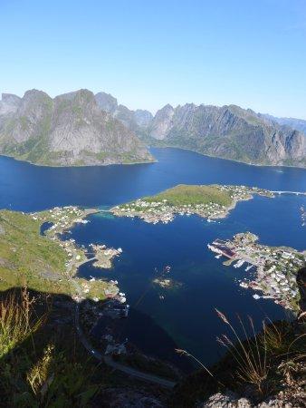 Reine, النرويج: Reinebringen - Monte vista su Reine