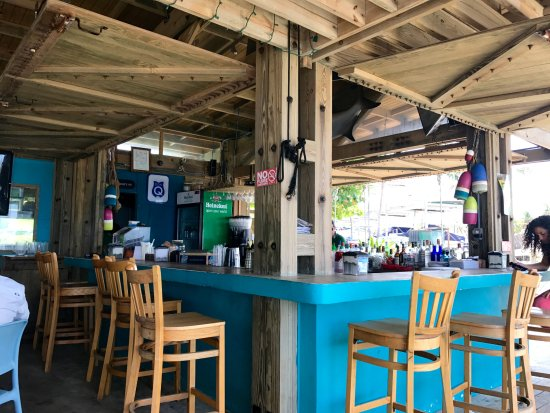 Palmas Del Mar, Porto Rico: The Bar at La Pescaderia. Try their Mojito.