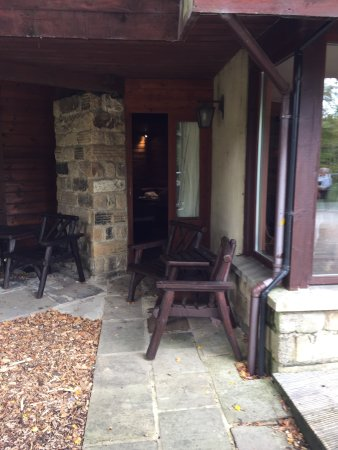 Chevin Country Park Hotel & Spa: Room 1 small private terrace