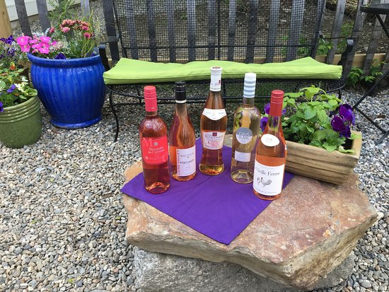 Bucksport, ME: Rose wine for the perfect summer sipping!