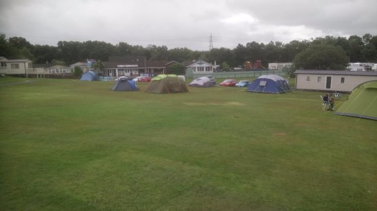 Parkdean - Sundrum Castle Holiday Park: From top of tent area looking down the slope.