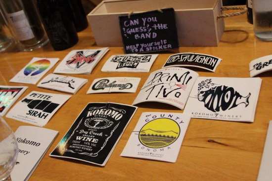 Healdsburg, Californien: ASk about the stickers
