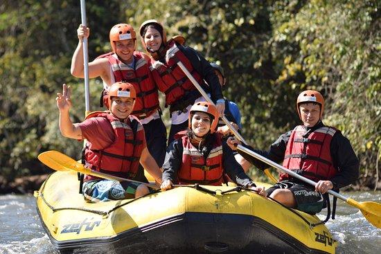 EcoAcao Turismo de Aventura: Aventura maravilhosa tempo favorável e águas calmas.