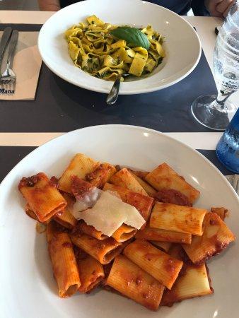 Pesto y Arrabiata Ragú
