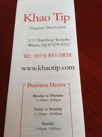 Khao Tip: A destination Thai restaurant