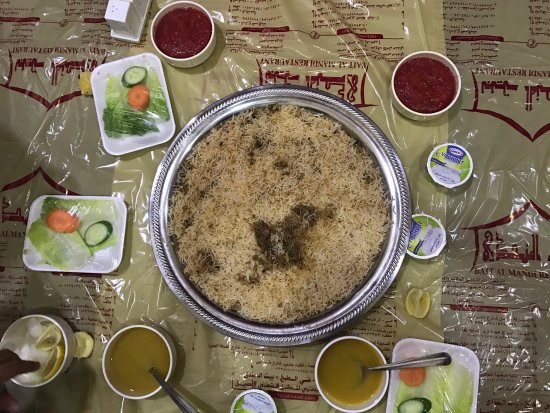 Very traditional arabic foodnice experience picture of bait al bait al mandi restaurant al barsha location very traditional arabic food nice forumfinder Images