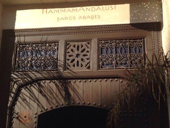 Entr E Du Hammam Andalusi Banos Arabes Billede Af