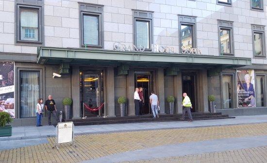 Grand Hotel Sofia: Entrada