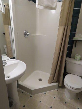 The YWCA Banff Hotel: Baño privado
