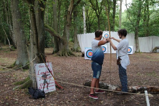 Nottinghamshire, UK: Long Bow coaching