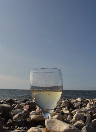 Ranum, Dania: Deilig å slappe av på stranda.