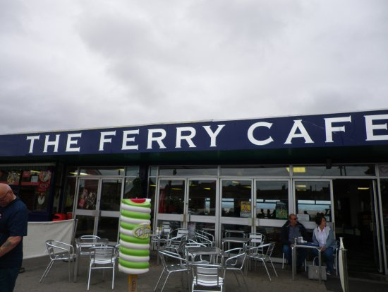 The Ferry Cafe Seating Outside Too