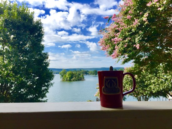 Lookout Point Lakeside Inn: Gorgeous views the Birdsong Room! ❤️