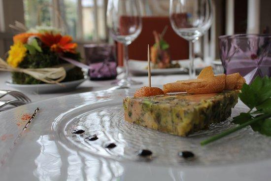 Logis Le Relais de Fusies: foie gas maison