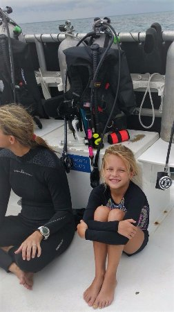 Scuba Outfitters of Naples, LLC: On my way to Molasses Reef, Key Largo FL