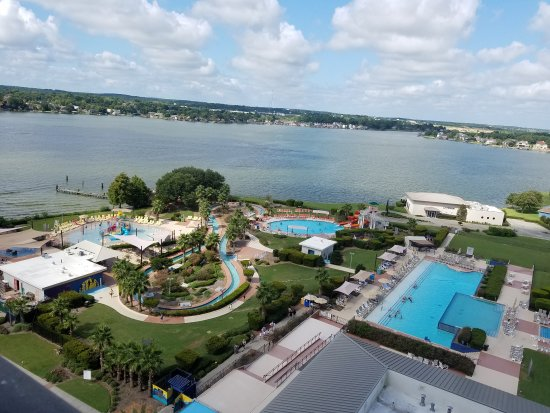 La Torretta Lake Resort & Spa : The view