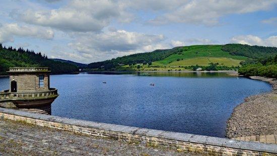 Ladybower Reservoir from the dam