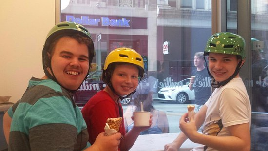 Segway Pittsburgh: Millie's Ice Cream stop on tour