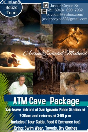 ATM Cave of the Stone Sepulcher was used by Ancient Maya Early Classic period AD 300- 600