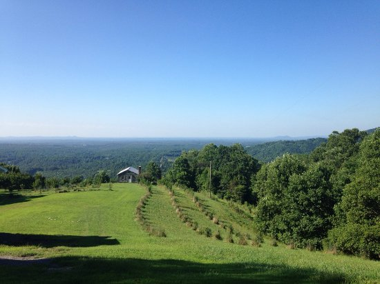 "Cana, VA: This is a view taken from further up the mountain, having taken the ""gravel road"" route!"