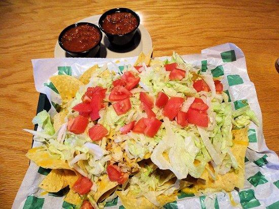 Beef 'O' Brady's: great nachos