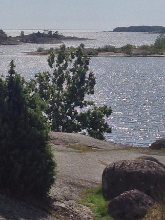 A View from the cliffs of Tjärö