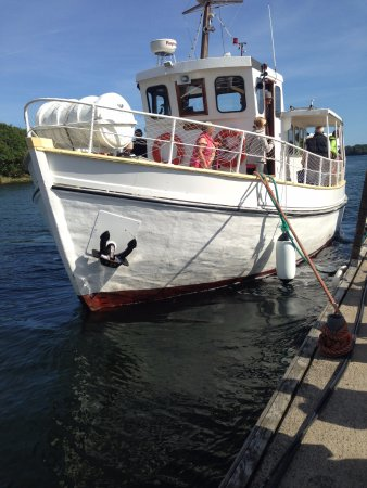The Ferry that goes out to the Island of Tjärö