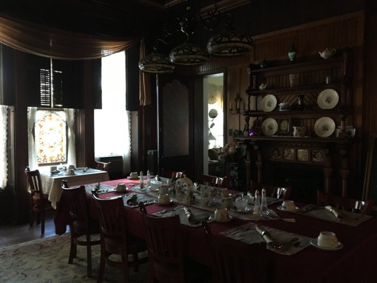 ‪‪Spencer House Bed and Breakfast‬: Dining Room‬