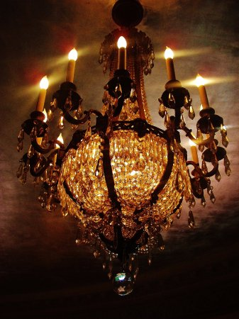 One of the chandeliers in the music room picture of pittock pittock mansion one of the chandeliers in the music room aloadofball Gallery