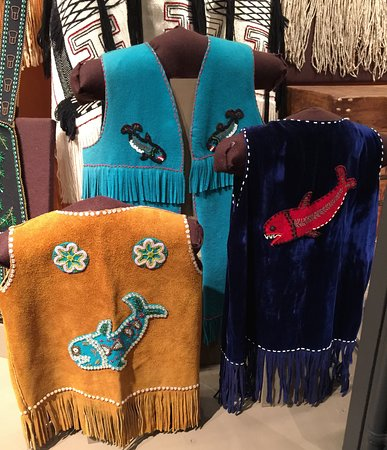 Tongass Historical Museum : Traditional native garb.....