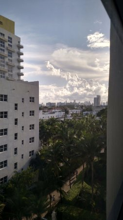 Loews Miami Beach Hotel Looking Out At An Angle From My Room On 6th Floor