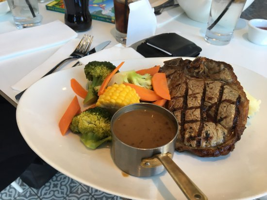 Strathfield South, Australien: Tbone -dianne sauce