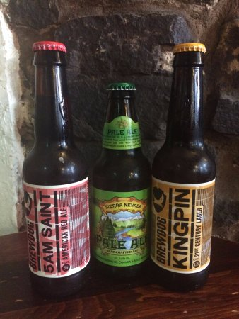 Clun, UK: Craft Beers