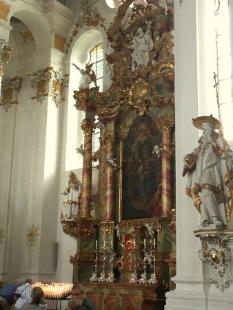 Steingaden, Deutschland: one of the altars