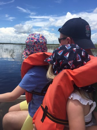 Weston, FL: Airboat ride