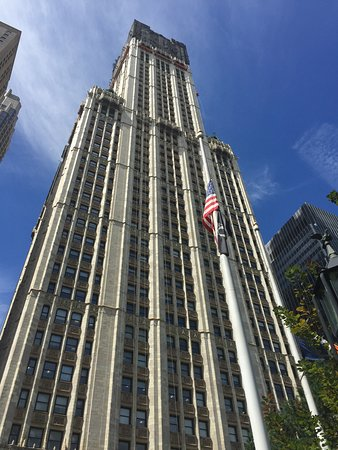 Photo of Woolworth Building in New York City, NY, US