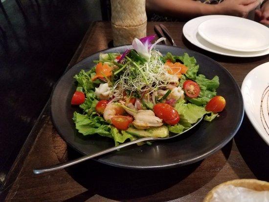 Noi Thai Cuisine: Seafood Salad -- very small potion